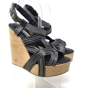 Steve Madden Women's Sandal Size 8/Eu 39 Black